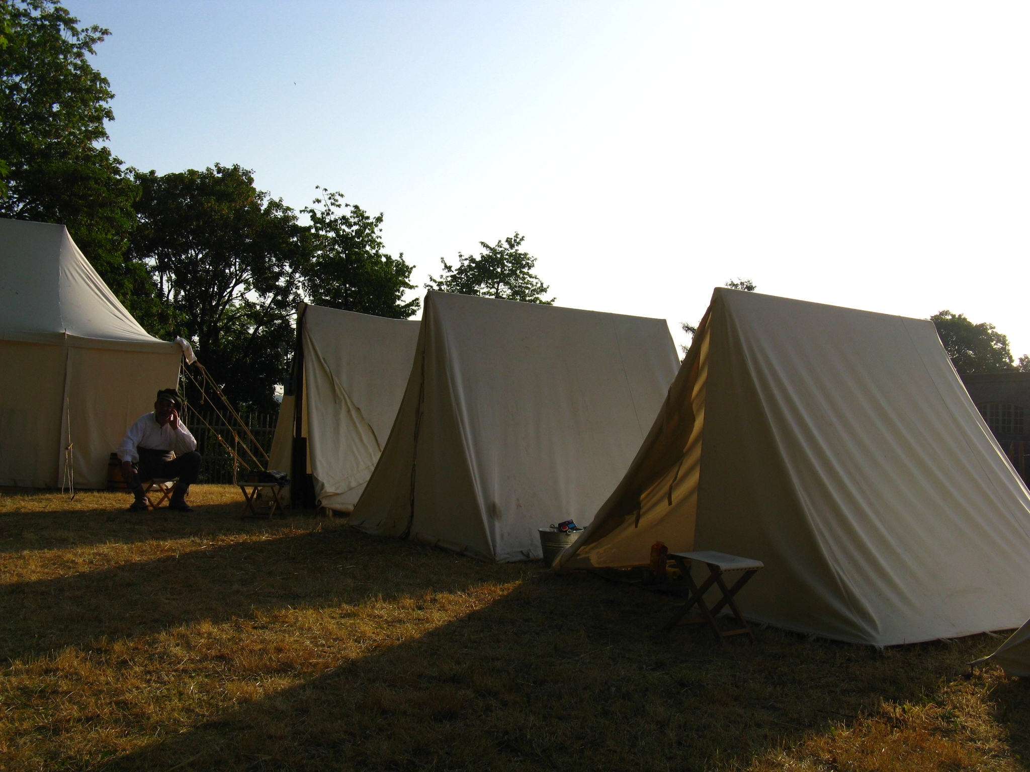 Ridge-tents can be made any size you require. Our standard 2 person ridge- tent is 300 x 200 x 185 cm with a bell. & Ridge-tent | Tents of Old